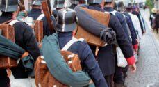 Mød de historiske soldater på Rådhustorvet