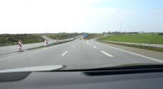 Motorvej: Mand fra Augustenborg kørte op bag i en anden bil