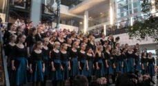 Soundpainting-koncert på flere niveauer i Alsion