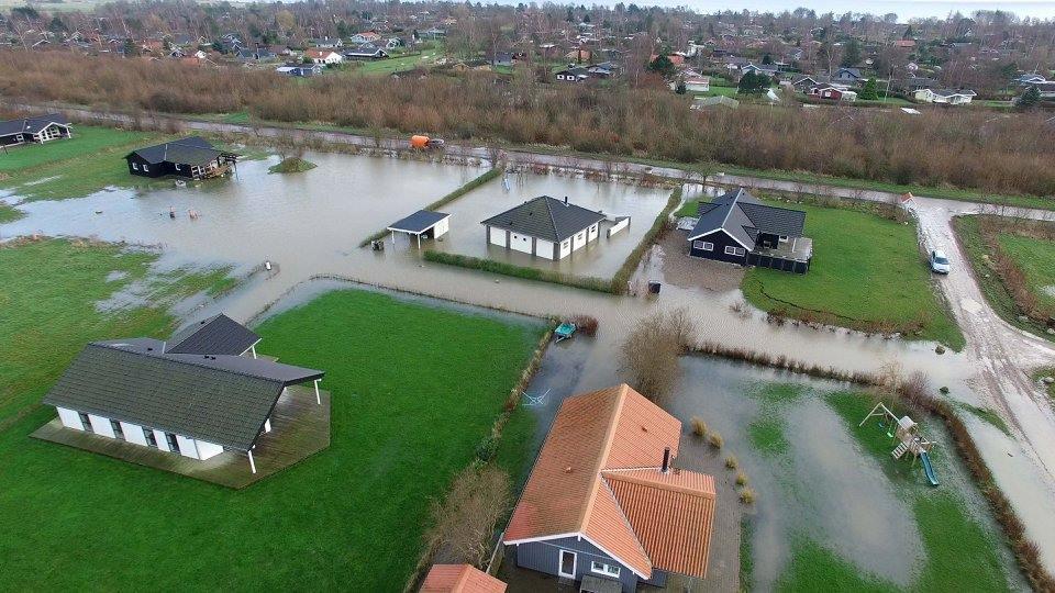 Oversvømmelsesproblemer ved Skovmose bliver løst nu | SønderborgNYT