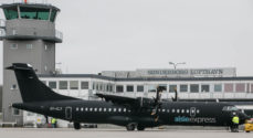 Mandag fløj 80 passagerer med Alsie Express