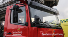 Containerbrand ved Verdens Ende