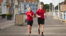Genforeningen: Løbeklubber skridter Sønderjyllands grænser af i løbesko