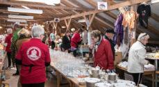 Borgerforeningen kan endelig invitere til loppemarked