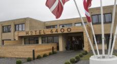 Overnattede på Hotel 6400 - og blev anholdt