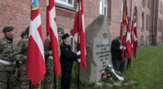 9. april mindes - men uden byens borgere