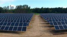 Solcellepark på vej mellem Tandslet og Lysabild