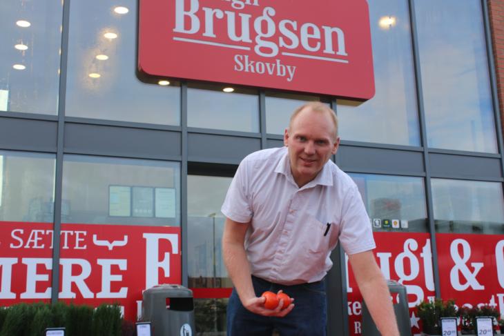 Smuk Lokal opbakning skaber succes hos Dagli'Brugsen i Skovby VU-01