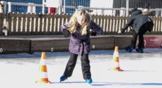 Skøjtebanen lukker - åbner måske igen søndag