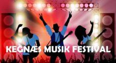 Syv bands på scenen til Kegnæs Musikfestival