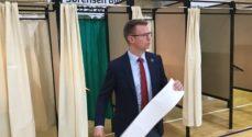 LIVE TV: FV19 - Benny Engelbrecht fra Socialdemokratiet har stemt - se med her