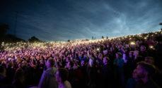 Billeder fra fredagens Møllepark-koncert