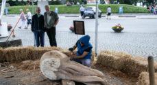 Sidste arbejdsdag for skulpturkunstnerne
