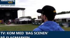 TV: Kom med 'bag scenen' på Slagmarken