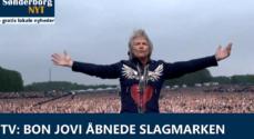 TV: Bon Jovi åbnede Slagmarken