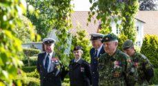 Faldne fra Kampen om Als mindes med kranse