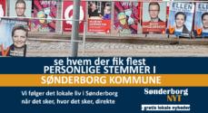 FV19: Se hvem der fik flest personlige stemmer i Sønderborg Kommune