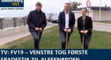 TV: FV19 – Venstre tog første spadestik til AlsFynBroen