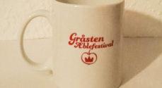 Støt Gråsten Æblefestival - køb et festivalkrus i SuperBrugsen i Gråsten
