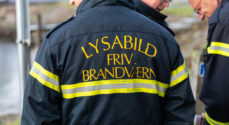 Billeder fra brandøvelse