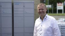 Lokalt samarbejde: Swipbox og landets støre brugsforening tester pakkebokse
