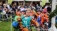Ringriderfesten: Nu kommer der minigolf i Børneland