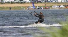 Billeder: Kitesurfing på Kegnæs