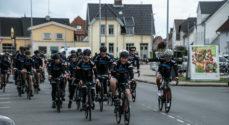 Lars Løkke og cykelholdet nåede til Sønderborg