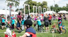 Billeder: Fri BikeShop og Børnelands cykelringridning med mere