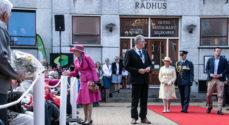 Billeder: Nu er Dronningen i Gråsten
