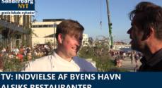 TV: Indvielse af Byens Havn - Alsiks restauranter