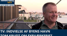TV: Indvielse af Byens Havn – Tom Krudt om fyrværkeriet