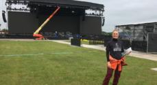 Serviceøkonom fra EASV var med til at gennemføre koncert med Jon Bon Jovi
