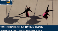 TV: Indvielse af Byens Havn - akrobatik i verdensklasse