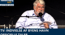 TV: Indvielse af Byens Havn - officielle taler