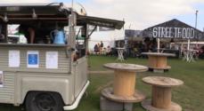LIVE TV: Street Food – nyhed på Ringriderpladsen