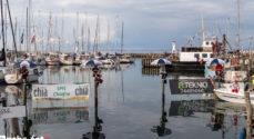 Billeder: Pælesidderne ved Mommark Marina er på plads