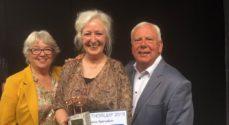 Hædersprisen Årets Thorleif blev givet til Hanne Bjørnskov fra Esbjerg Revy