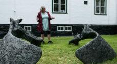 TirsdagsTRÆF: Trine Marie Høy fortalte historien bag 'Hjortens bækken'