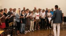 Sydalskoret åbnede sæsonen med ekstra sangere