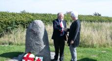 Røde Kors markerer indsatsen i Dybbøl Skanse