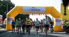 Nordborg Marathon på en herlig solskinsdag