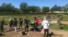 Kom og oplev skolehaverne i Fiskbæk Naturskole