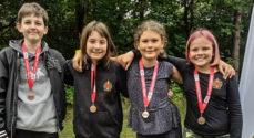 Fire skytter fra Broager vandt en bronzemedalje