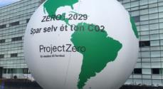 ProjectZero og Ungeklimarådet kommer med en 1 ton CO2-ballon til Kulturnatten