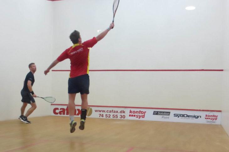 Begge Sønderborg Squash Clubs hold sejrede forleden
