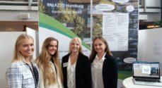 Fire piger fra Det Blå Gymnasium skal til regionsmesterskab i Erhvervscase