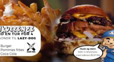 Nova Data: Bak op om Lazy Dog og deltag i konkurrence om burgere til fire