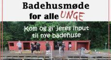 Unge i Augustenborg inviteres til 'Badehusmøde'