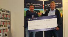 Sol og Strand donerer penge til børneaktiviteter på Augustenborgs julemarked
